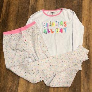 NWOT Girls pajamas